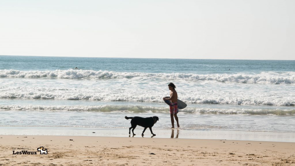 Flirten am strand
